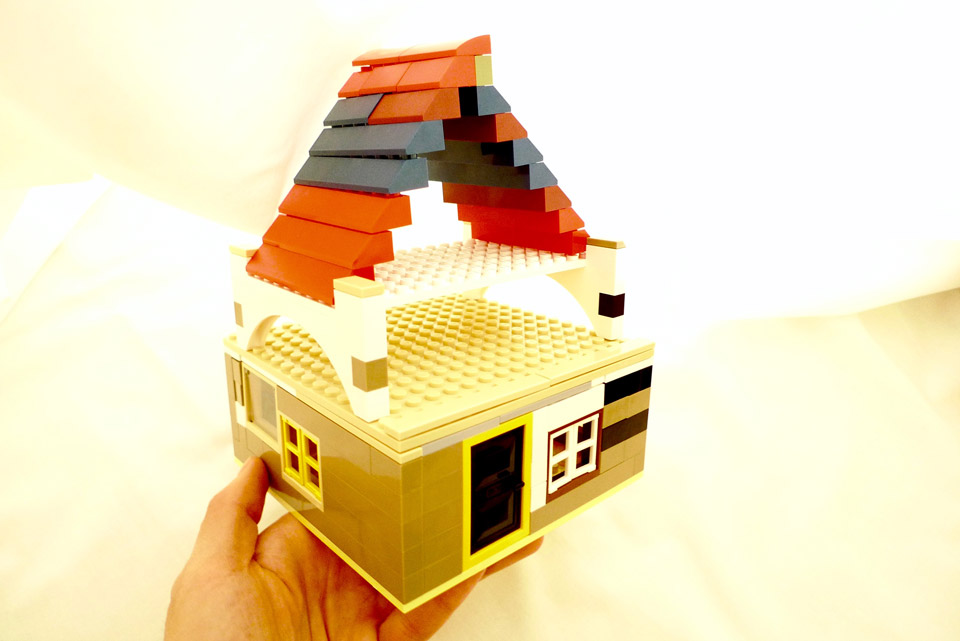 lego tiny house