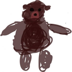 Oso, a brown bear