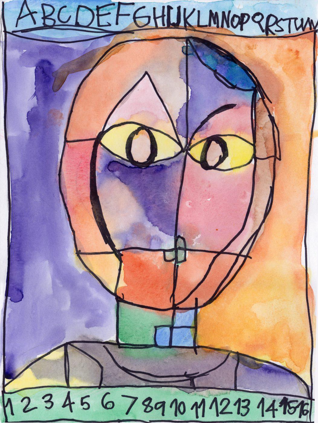 Cinessio • Paul Klee Art class (May, 2018)