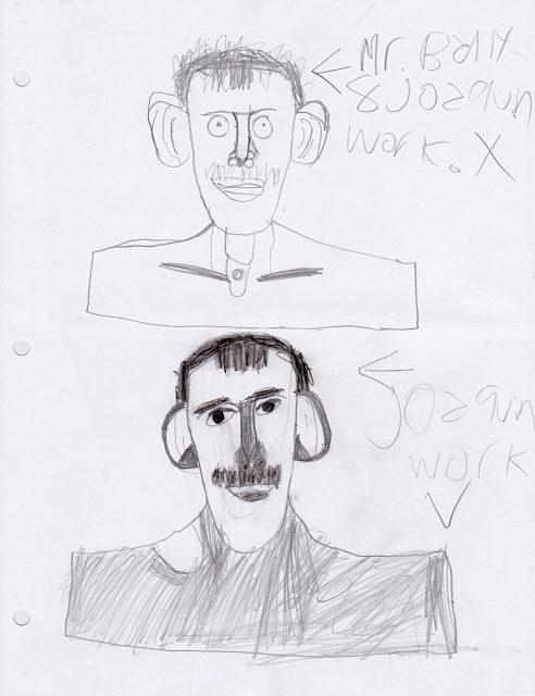 Preliminary sketches for Human (May 24)