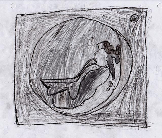 Preliminary sketch for Planet (Jun 14)