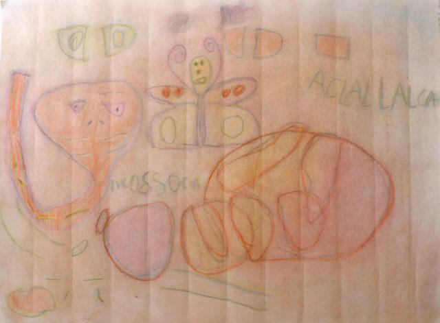 Pastel drawing • Big Messy Art (Aug 8–9, 2018)