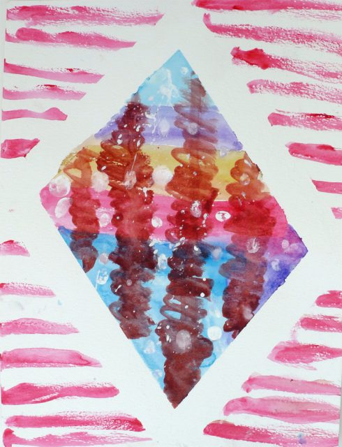 Watercolor • Galaxy Art (Aug 13–14, 2018)