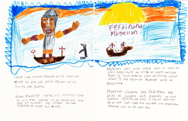 Ferdinand Magellan (two-page spread) • Biographies Book (Jun 2018)