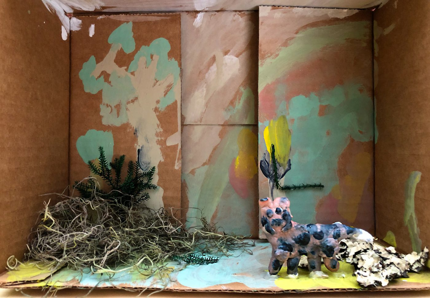 Cheetah diorama (Apr 19, 2019)